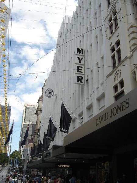 H2100 myers melbourne bourke street facade 2 jan 06 jb