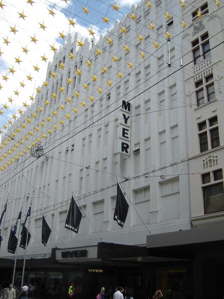 H2100 myers melbourne bourke street facade jan 06 jb