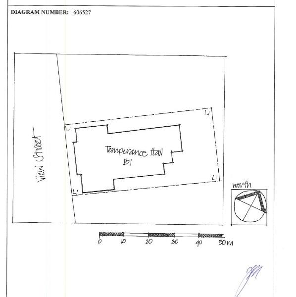 H1335 bendigo temperance hall plan
