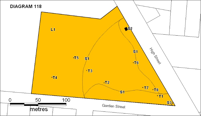 H0118 Koroit Botanic Gardens plan