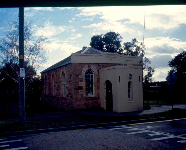 Box Hill Wesleyan Chapel Exterior