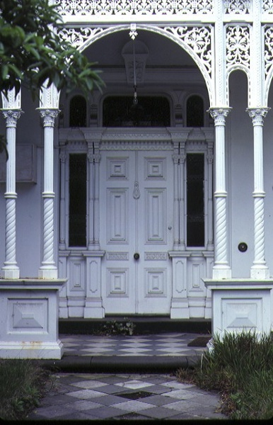 Eastcourt Powlett Street East Melboure Detail Entrance