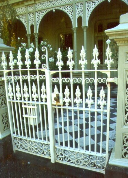 Eastcourt Front Gate May 2001