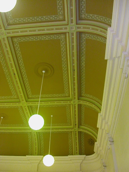Prahran Town Hall Ceiling First Town Hall May 05