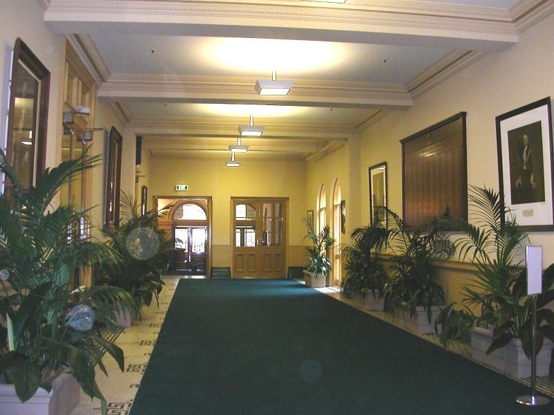 Prahran Town Hall Former Conservatory Interior May 05