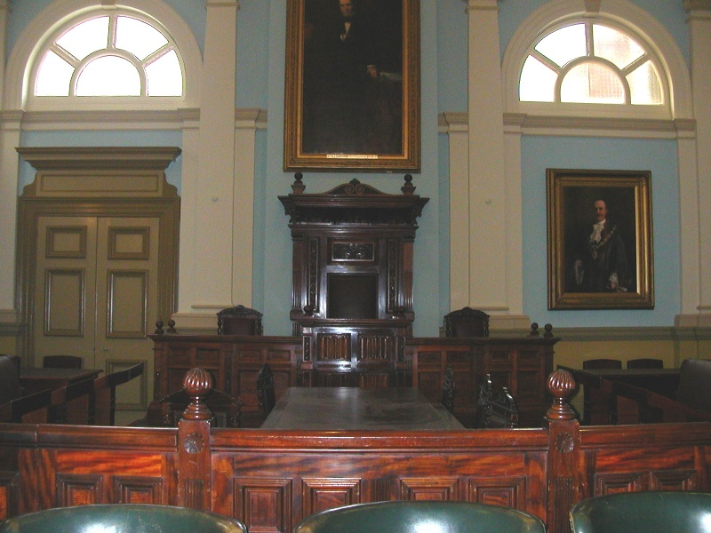 Prahran Town Hall Interior Council Chamber 2 May 05