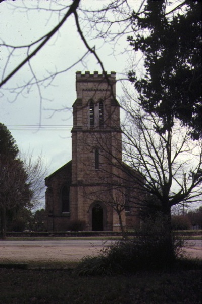 Christ Church Ford Street Beechworth Front View