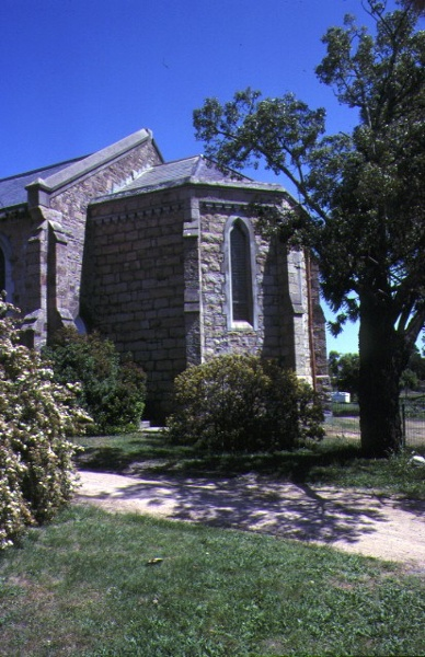 Christ Church Ford Street Beechworth Rear View