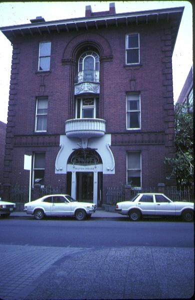 Milton House Flinders Lane Melbourne Front View October 1982