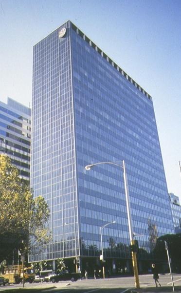 ICI House Nicholson Street East Melbourne Front Elevation