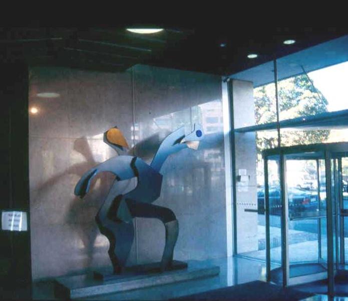 ICI House Nicholson Street East Melbourne Foyer Joie De Vivre