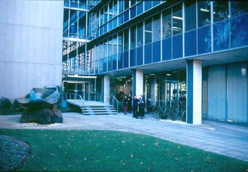 ICI House Nicholson Street East Melbourne Garden Entrance