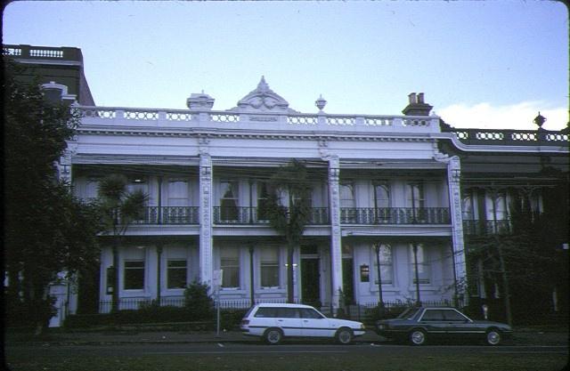 Burlington Terrace 23 Lansdowne Street East Melbourne Exterior Front