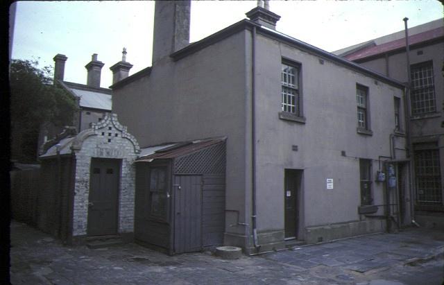Burlington Terrace 27 Lansdowne Street East Melbourne Exterior Rear