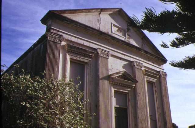 Former St Andrews Presbyterian Church & Manse William Street Port Fairy Front Elevation of Church June 1989