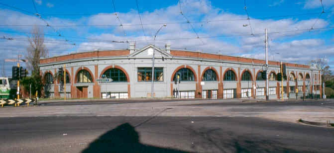 Former Hawthorn Tramway Depot 1990s