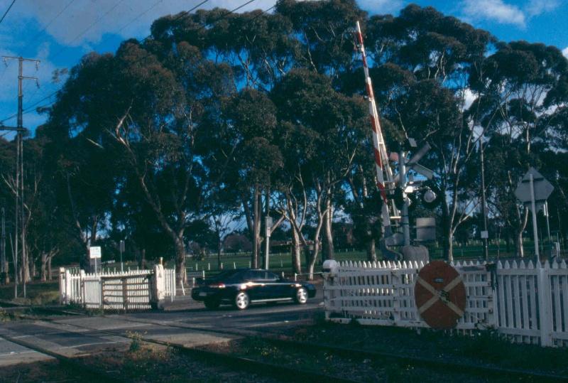 Brunswick Road Level Crossing Gates
