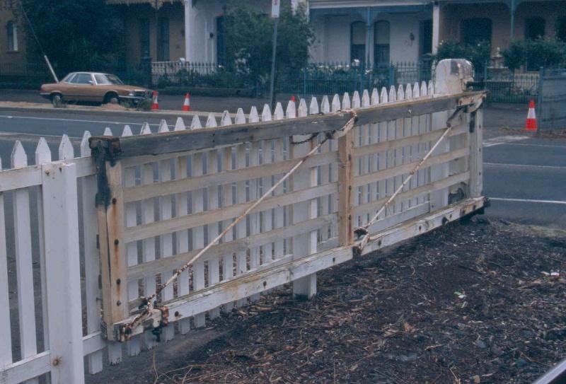 Upfield Railway Line Precinct Park Street Brunswick May 2006