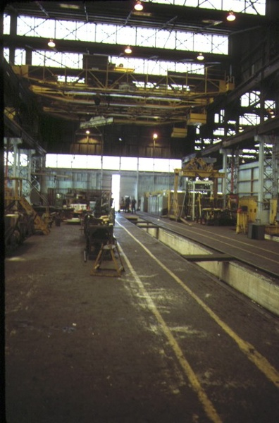 Former Railway Workshops Champion Road Newport Workshop Interior