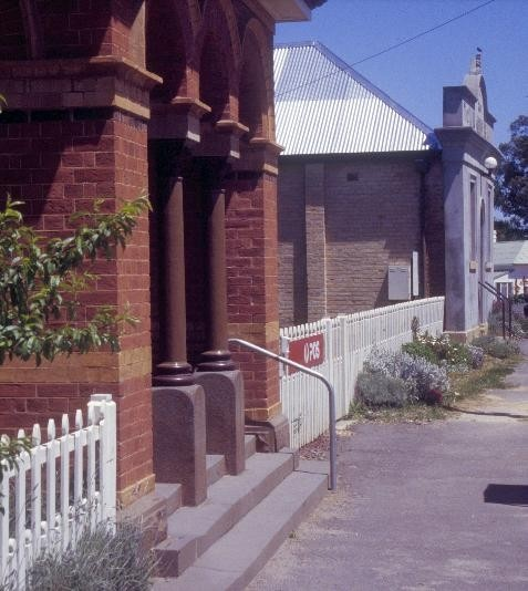 Former Chewton Post Office Pyrenees Hwy Post Office and Town Hall SHE Project 2004