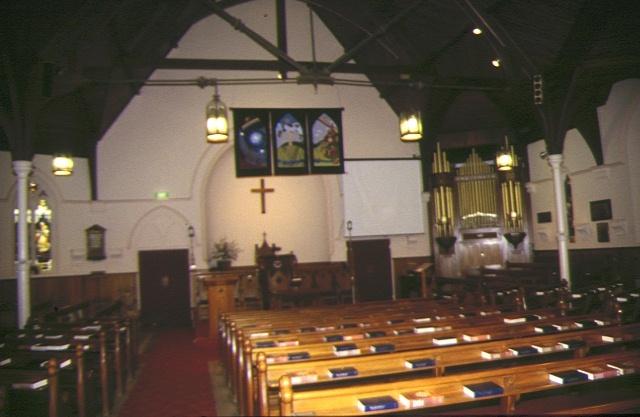 Uniting Church Lyttleton Street Castlemaine Interior Aug 1997