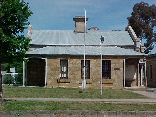 Police Station Ford Street Beechworth Front View November 99