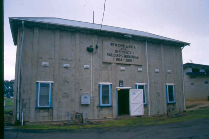 Winchelsea Grandstand Rear September 04