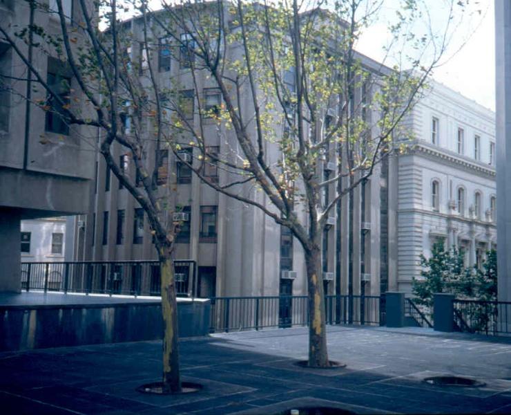 Treasury Reserve Precinct Western Annex Demolished