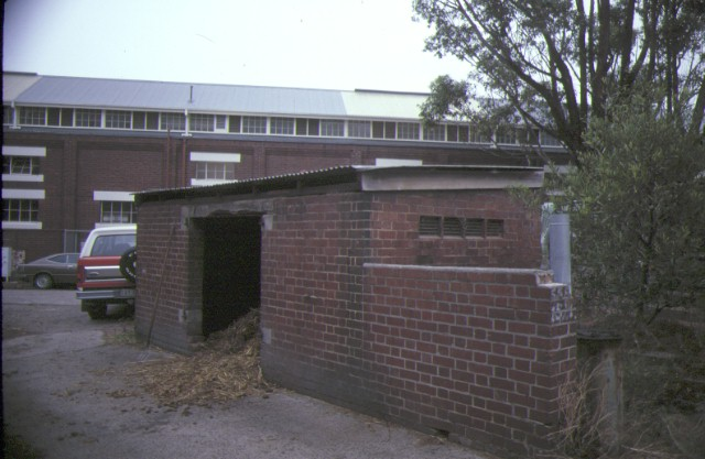 Former Victorian Police Mounted Branch Depot St Kilda Road Southbank Rear View March 1985