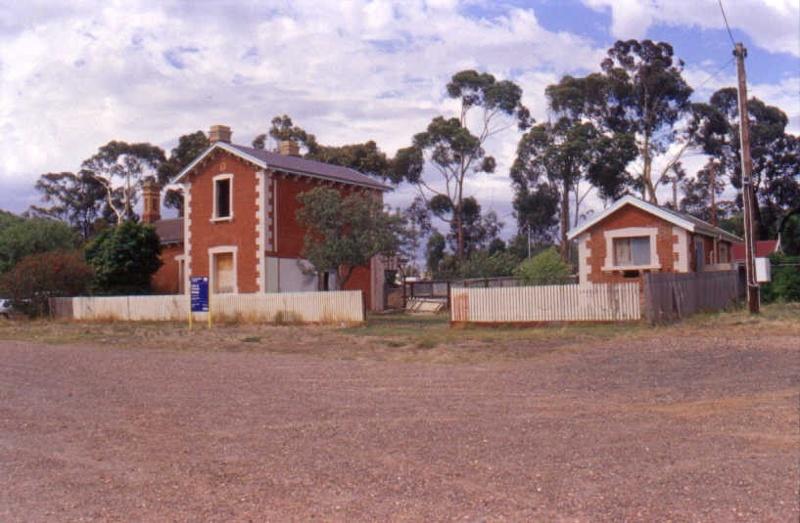 Kangaroo Flat Railway Station Complex Street Elevation
