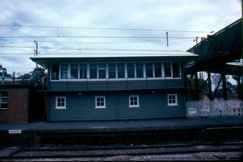 Ringwood Railway Station Railway Signal Box