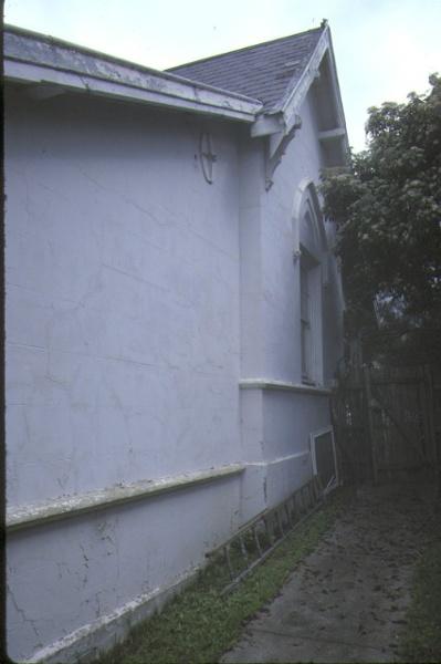 Former Head Teacher's Residence Heidelberg Side View September 1984