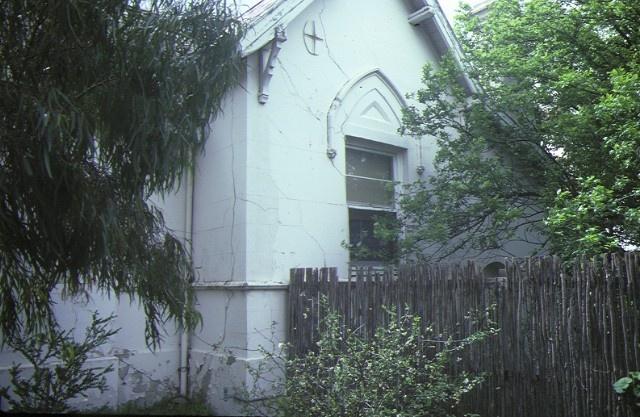 Former Head Teacher's Residence Heidelberg Side Windows September 1984