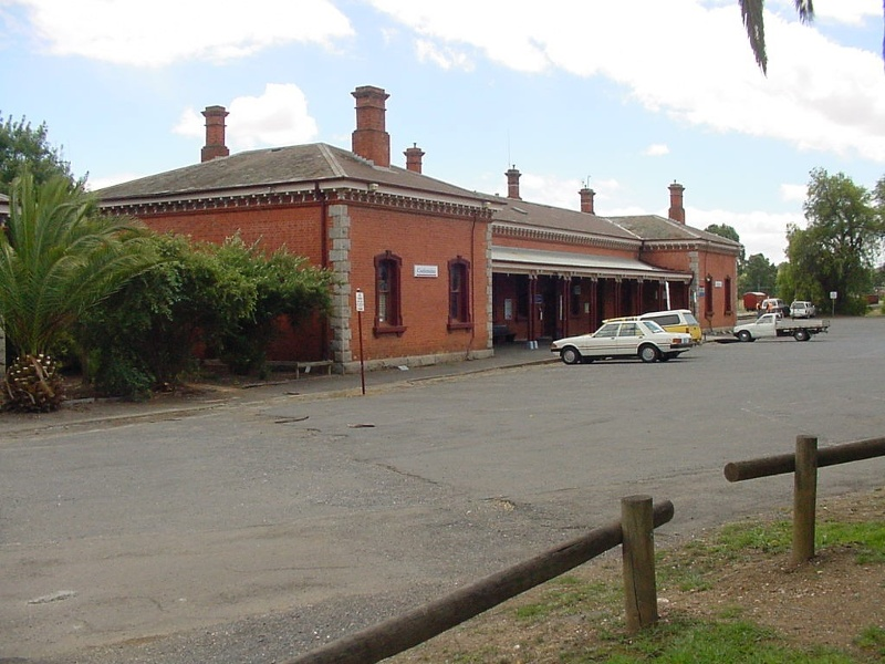 Castlemaine Railway Station View of South East End