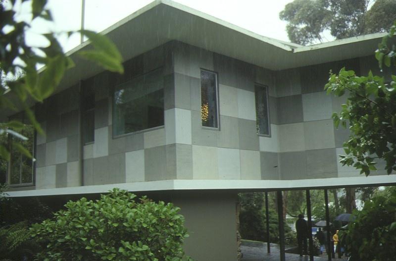 Delbridge House Eaglemont Rear View 1995