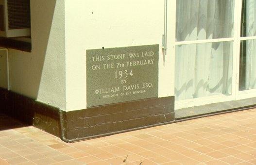 Former Mildura Base Hospital Foundation Stone