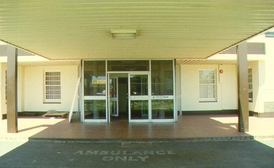 Former Mildura Base Hospital Porte Cochere 2001