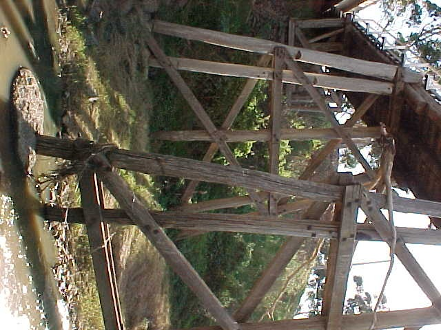Trestle Bridge Footing Detail May 2001