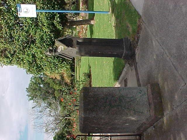 McKay Gardens Stone Entrance Gate
