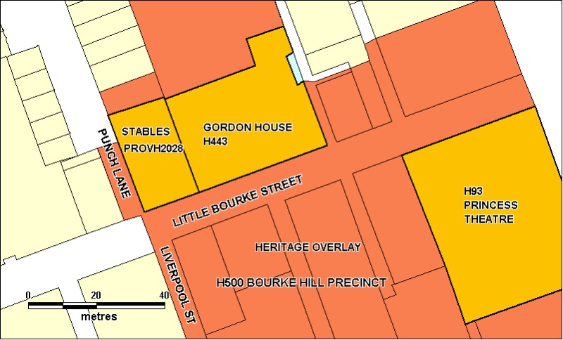 Former Angliss Stables Plan