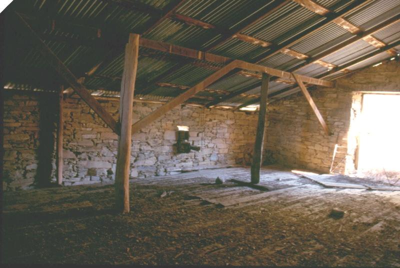 Elvezia Barn Interior 2004