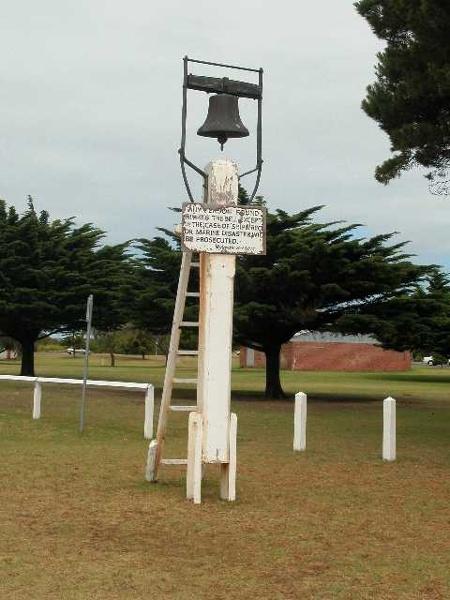 Convincing Ground Queenscliff Wreck Bell
