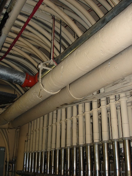 Myers Melbourne Lamson Tubes Ceiling February 2006