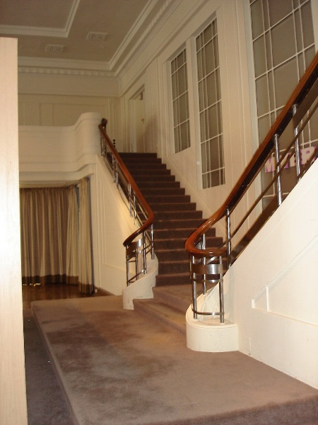 Myers Melbourne Mural Hall Stairs February 2006