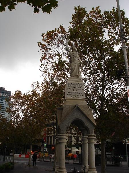 WCTU Fountain Melbourne