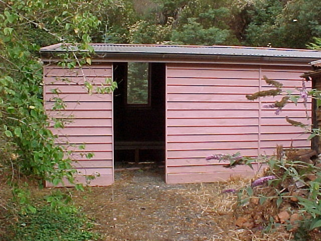 Walhalla Post Office Exterior Outbuilding March 2003