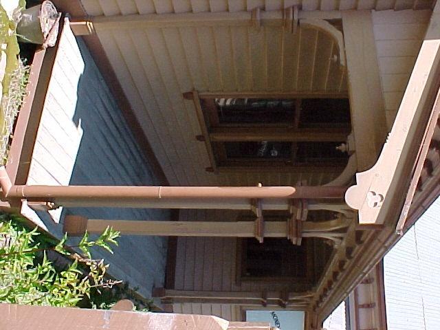 Walhalla Post Office Exterior Verandah March 2003