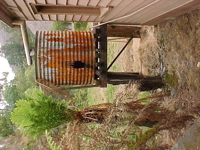 Walhalla Post Office Exterior Water Tank March 2003