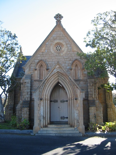Bendigo Cemetery Chapel August 2003
