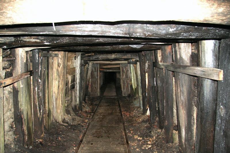 0198 Wonthaggi State Coal Mine Eastern Area Back tunnel incline